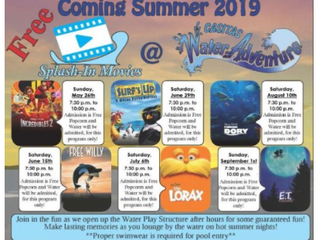 Splash-In Movies at Lake Casitas Water Adventure Play Structure May through September