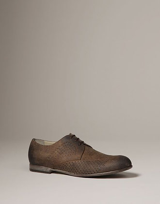WASHED SUEDE SIRACUSA DERBY (MENS)