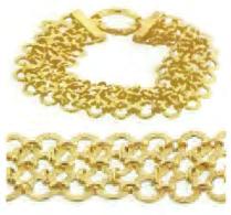 Toscano Collection Circle Bracelet 18K