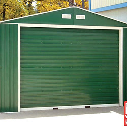 12x20 metal building shed green