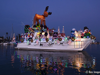 53rd Annual Holiday Parade of Lights at Channel Islands Harbor on December 8, 2018