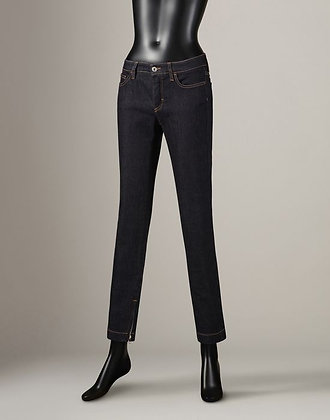 STRETCH DARK BLUE DENIM (WOMANS)