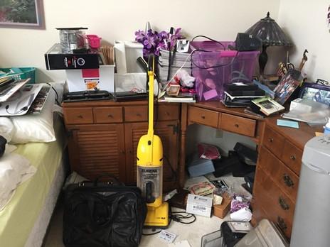 Bedroom Declutter
