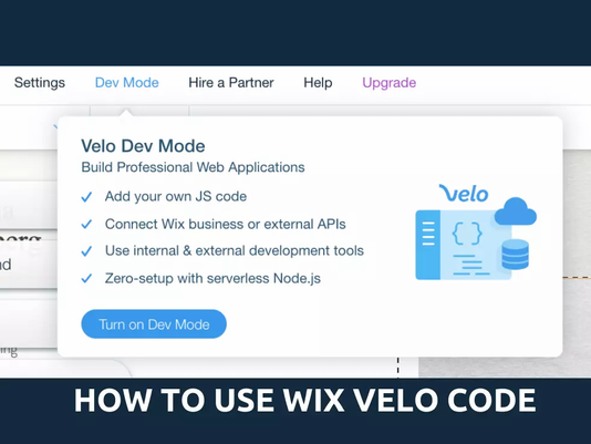 How To Use Wix Velo Code