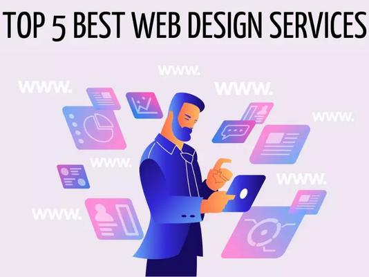 Top 5 Best Web Design Services