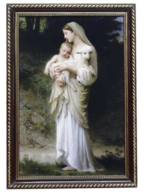 Ảnh Mẹ Bế Chiên