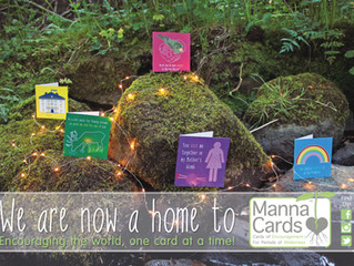 We are delighted to announce we now stock cards and prints from Manna Cards