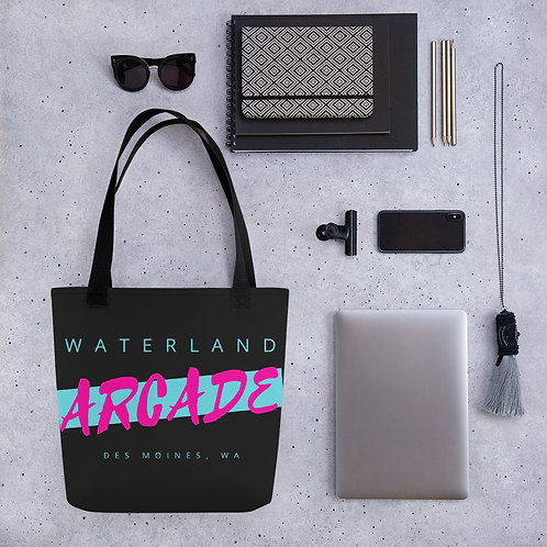 Waterland Arcade Tote bag
