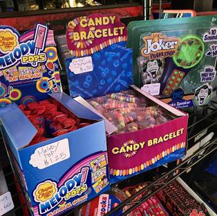 Retro candy