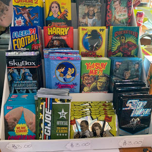 Wax packs from the 80's