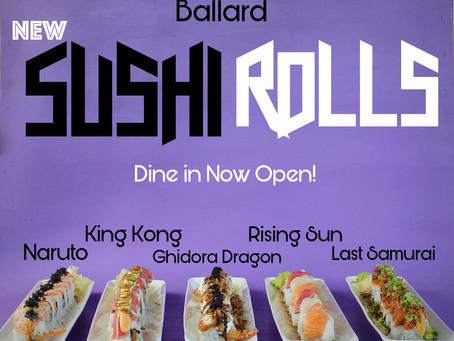 Ballard Dine in OPEN