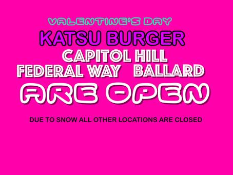 Valentine's Day - Stores open