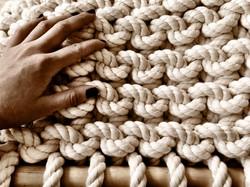 100% Organic Cotton Rope Knit