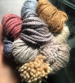Playing with color and yarns