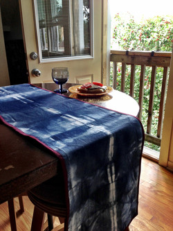 Hand Dyed Table Runner