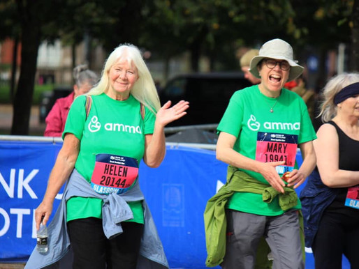 Team Amma takes part in Great Scottish Run