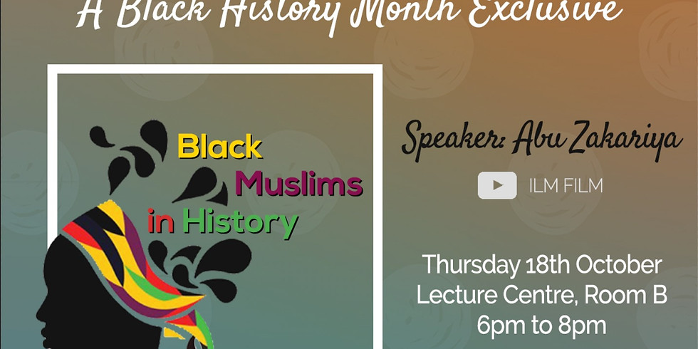 Black Muslims in History