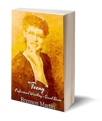 "Image of the book, ""Teeny"": Professional Wrestling's Grand Dame"