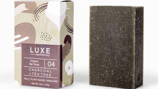 Charcoal & Tea Tree Organic Bar Soap