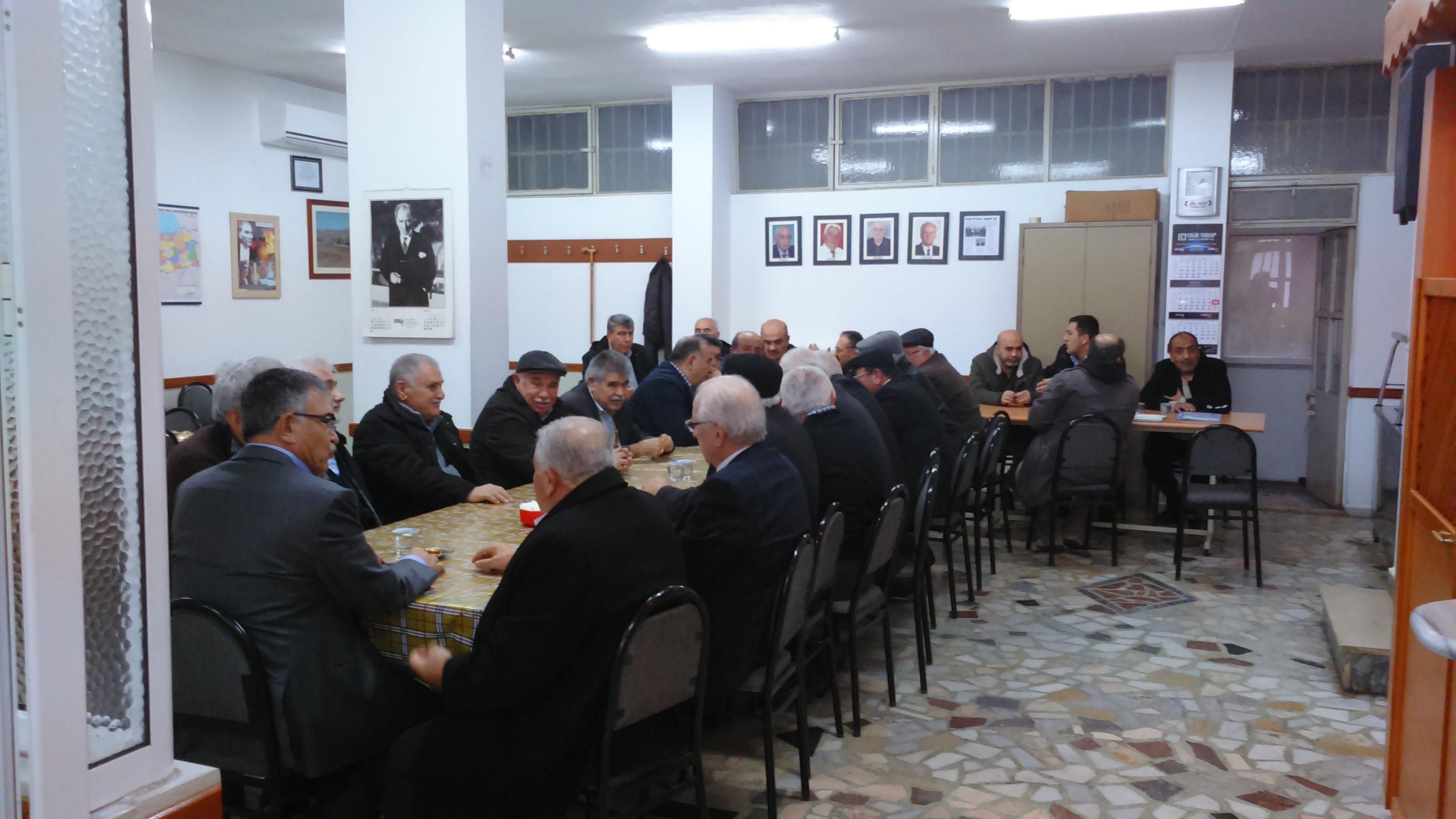 17 Ocak 2016 Sohbet Toplantısı