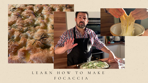 Learn how to make a fantastic Focaccia