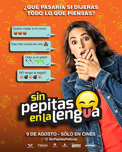 Cartel Sin Pepitas en la Lengua