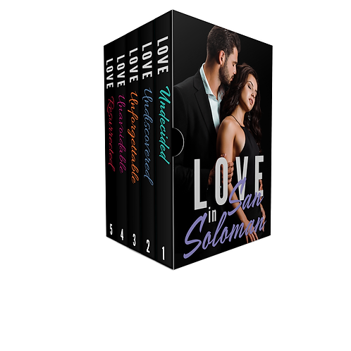 Love in San Soloman Box Set - E-Book Edition
