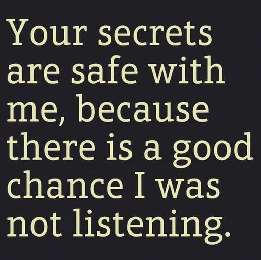 If noone hears you, are you really talking?