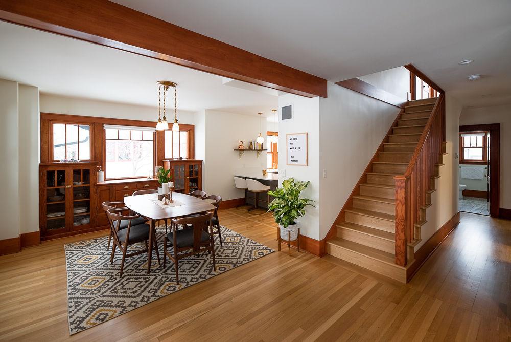Bungalow modern charm renovation energy