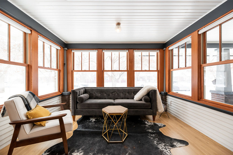 Bungalow modern charm renovation energy