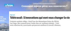 프랑스언론사(le parisien) 보도 기사