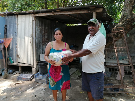 Photos from our latest efforts to help feed the needy because of the Covid-19 epidemic.