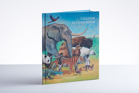 Emmemm Publishing.Unicorns in Gymnastica