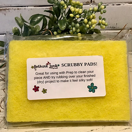 Scrubby Pads - package of 2