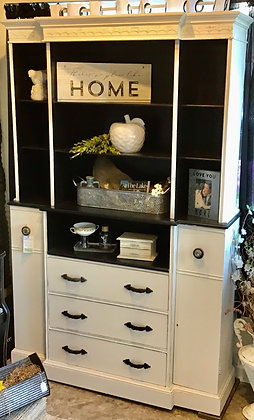 Black & White Hutch