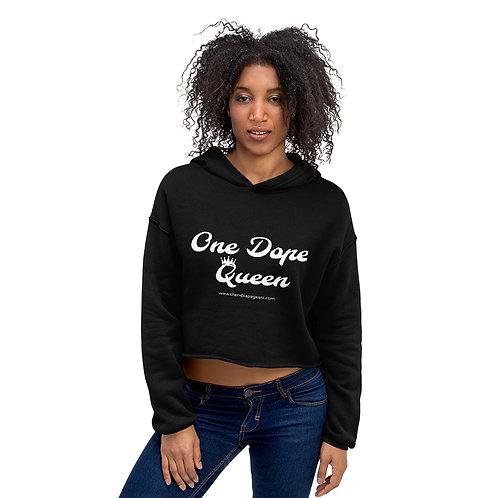Dope Queen Crop Hoodie