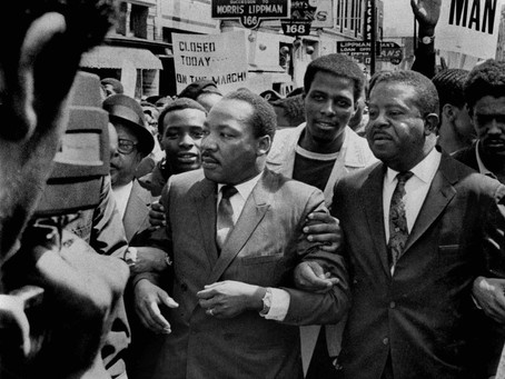 EPISODE #3 : GROWING UP IN THE 60'S & MARCHING WITH DR. KING:
