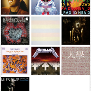 My top 10 most influential albums / releases