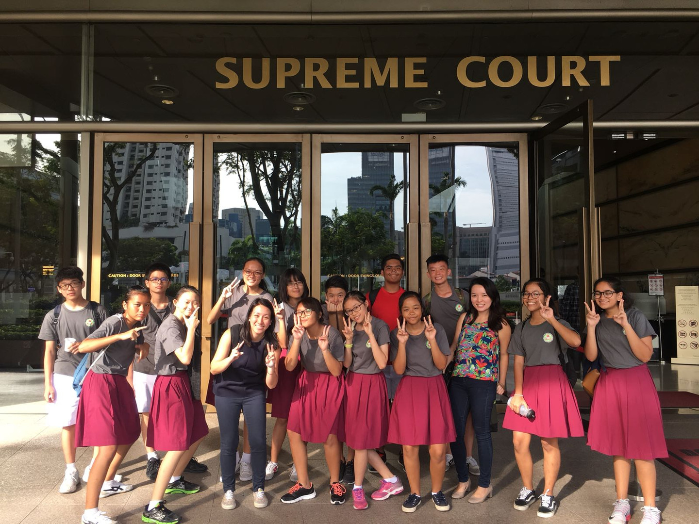 A trip to the Supreme Court!