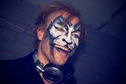 Cat facepaint party