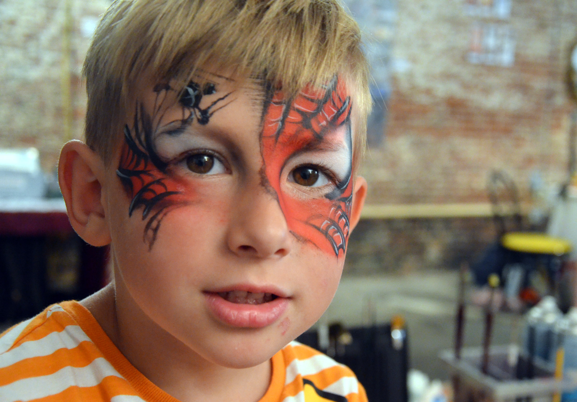 spiderman schmink Amsterdam