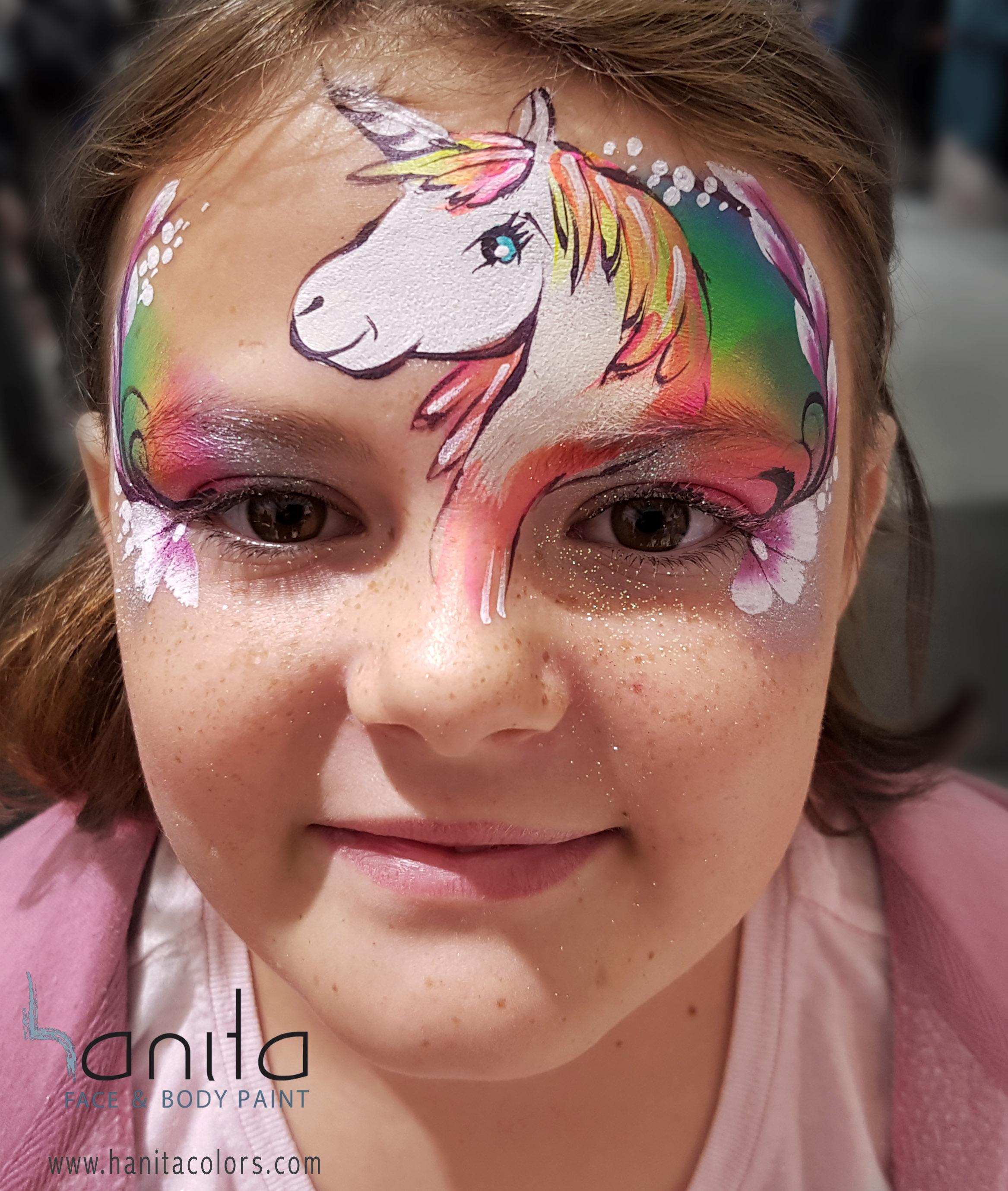 unicorn schminken