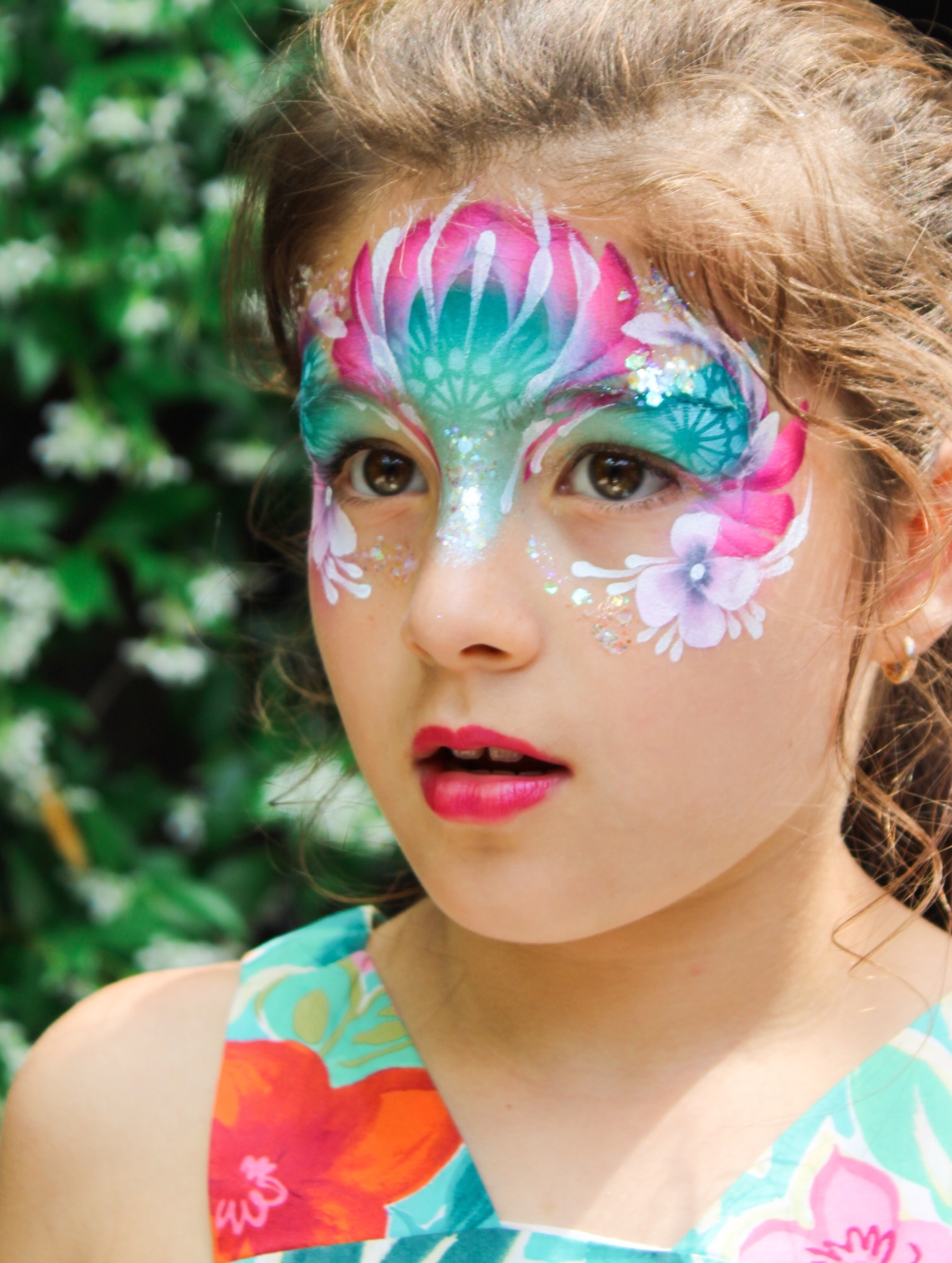 Fairy princess face painting