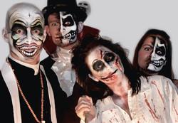 Halloween enge gezichten