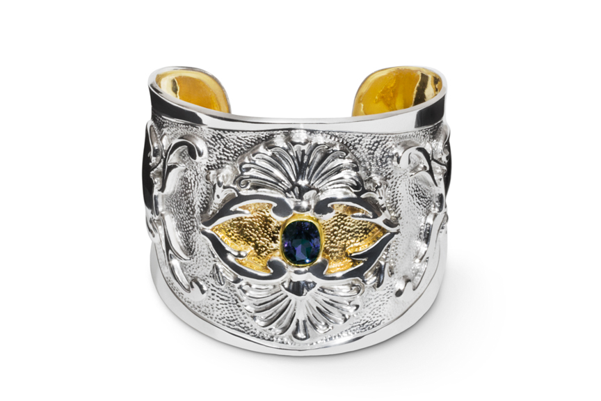 The Continental Cuff with London Blue Topaz