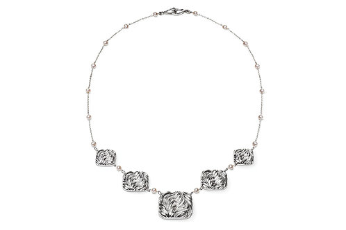 Palm Cascade Necklace