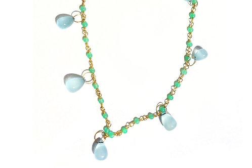 Necklace - Spun Sugar Briolette