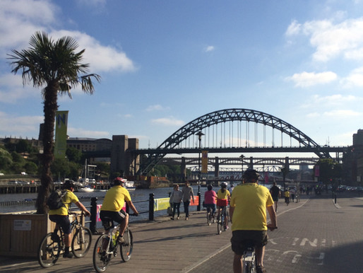 The 10km City ride in Newcastle