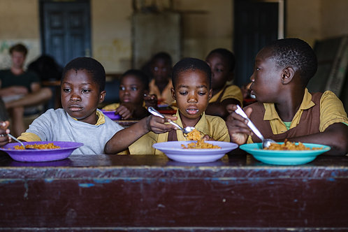 School Meals - for 3 children for a month.