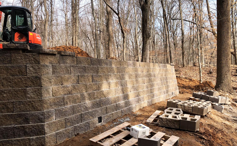 retaining wall, site planning